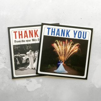 Cinema thank you cards