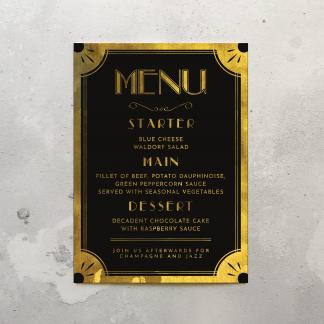 Gatby menu