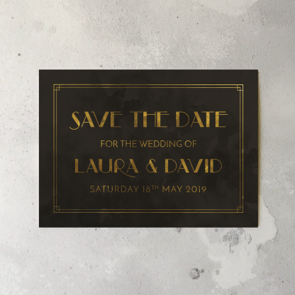Gatsby save the dates