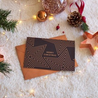Copper Christmas Cards
